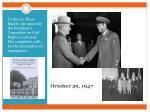 october 29 1947