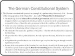 the german constitutional system1