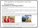 the system of election into the bundestag2
