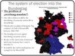 the system of election into the bundestag3