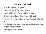 hva er bridge