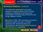 blackbody radiation continued