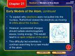 early models of the atom continued2