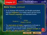 matter waves continued1