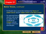 matter waves continued2