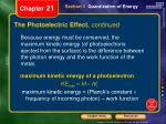 the photoelectric effect continued1
