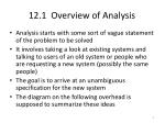 12 1 overview of analysis