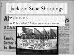 jackson state shootings