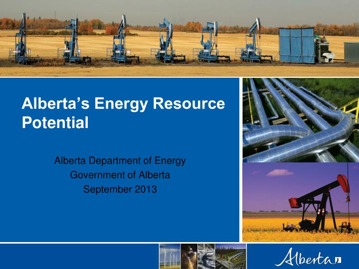 alberta s energy resource potential n.