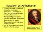 napoleon as authoritarian