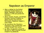 napoleon as emperor