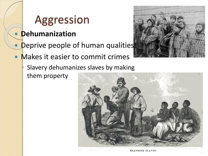 dehumanization slavery essays Dehumanizing slaves essay sample the dehumanization of the enslave: frederick douglass the narrative of frederick douglass, an american slave, written by himself every human being should be given the right to an education, love and the pursuit of happiness.