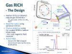 gas rich the design