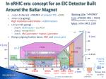 in erhic era concept for an eic detector built around the babar magnet