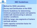 imo guidelines