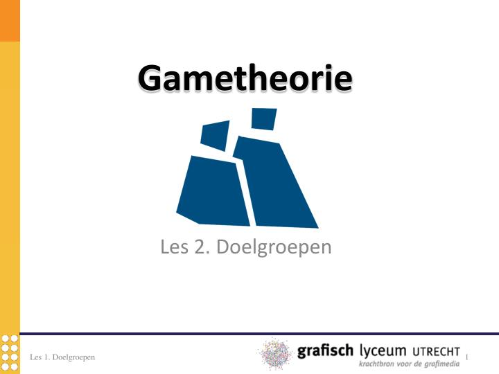 gametheorie n.