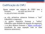 codifica o do cnpj