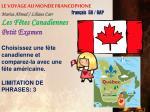 le voyage au monde francophone1