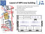 layout of mps new building