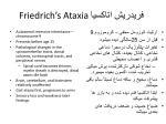 friedrich s ataxia