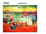 color andr derain