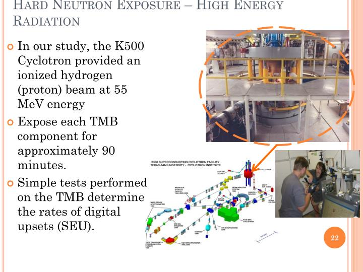 Hard Neutron Exposure – High Energy Radiation