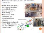 hard neutron exposure high energy radiation