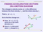 finding acceleration vectors on a motion diagram2