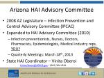 arizona hai advisory committee