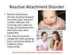 reactive attachment disorder1