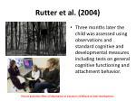 rutter et al 20041