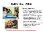 rutter et al 20043