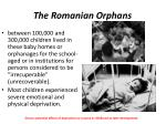 the romanian orphans1