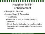 houghton mifflin enhancement
