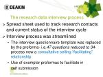 the research data interview process1