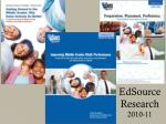 edsource research 2010 11