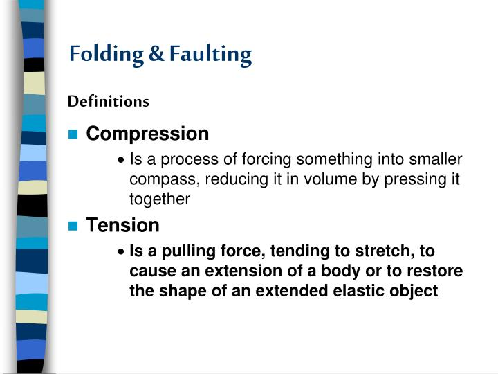 ppt folding faulting powerpoint presentation id 2231476