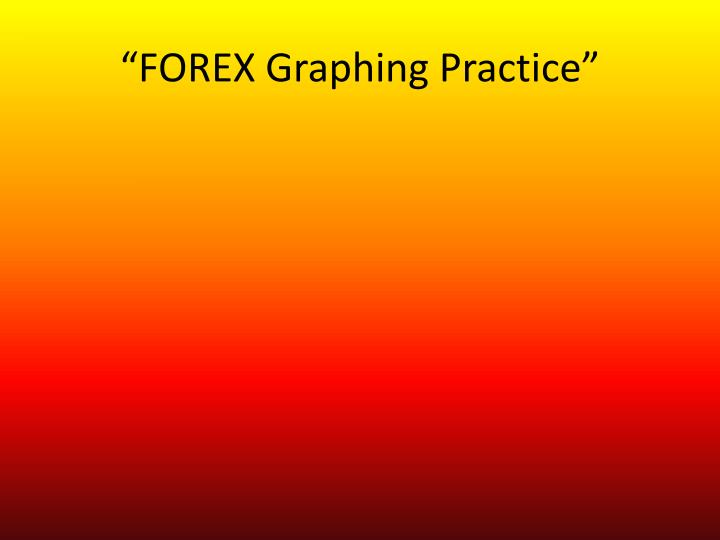 forex graphing practice n.