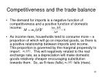 competitiveness and the trade balance2