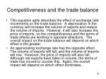 competitiveness and the trade balance4