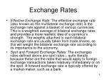 exchange rates1