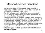 marshall lerner condition