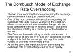 the dornbusch model of exchange rate overshooting