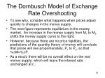 the dornbusch model of exchange rate overshooting1