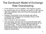 the dornbusch model of exchange rate overshooting3