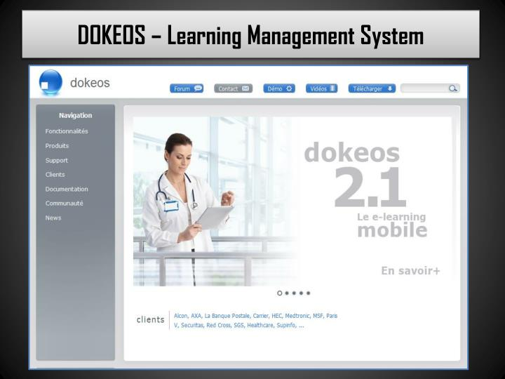 dokeos learning management system n.