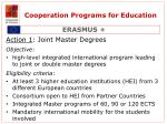cooperation programs for education