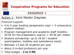 cooperation programs for education1