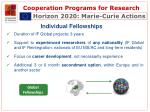 cooperation programs for research12