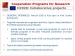 cooperation programs for research13